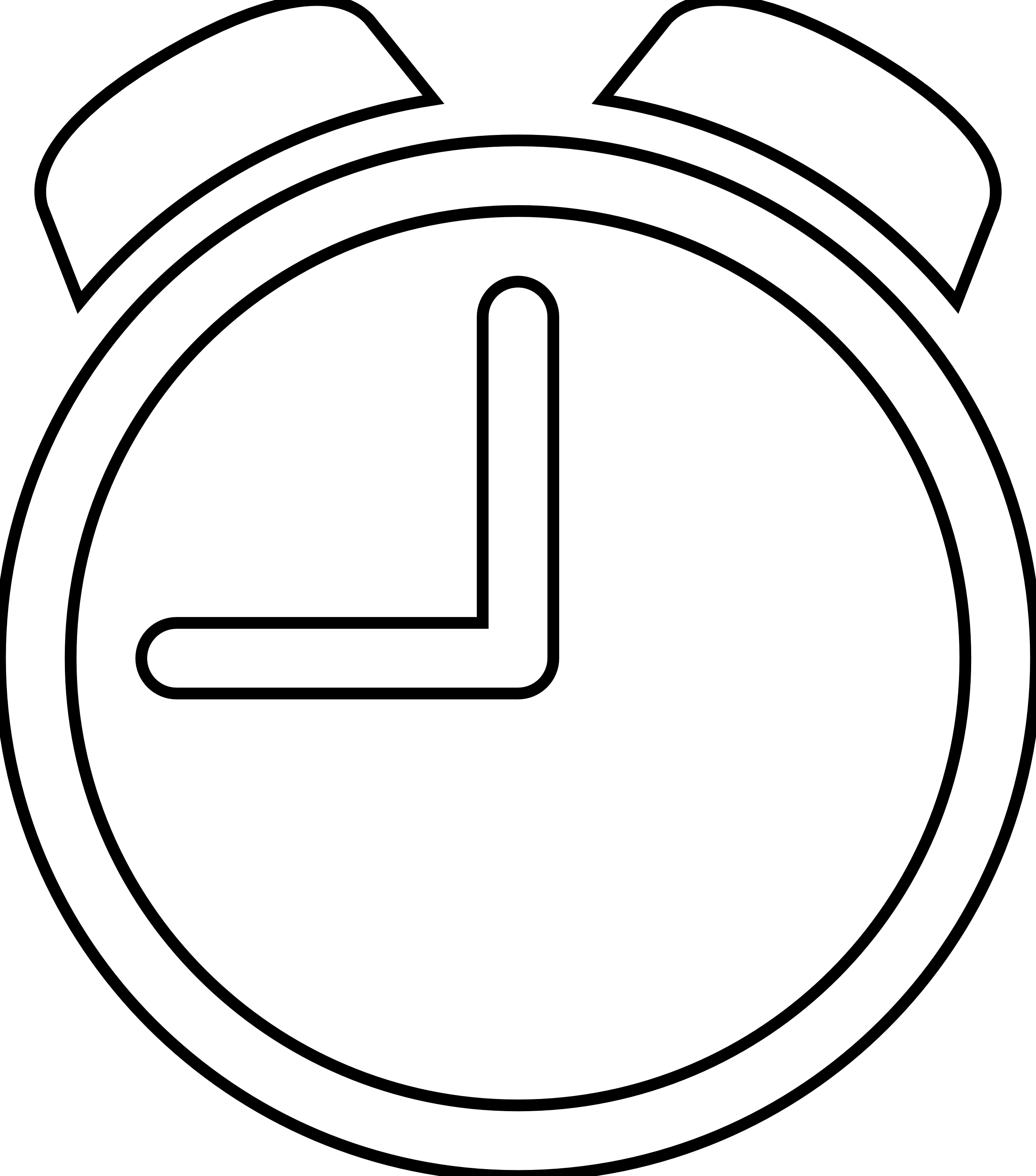 Clipart Of A Clock