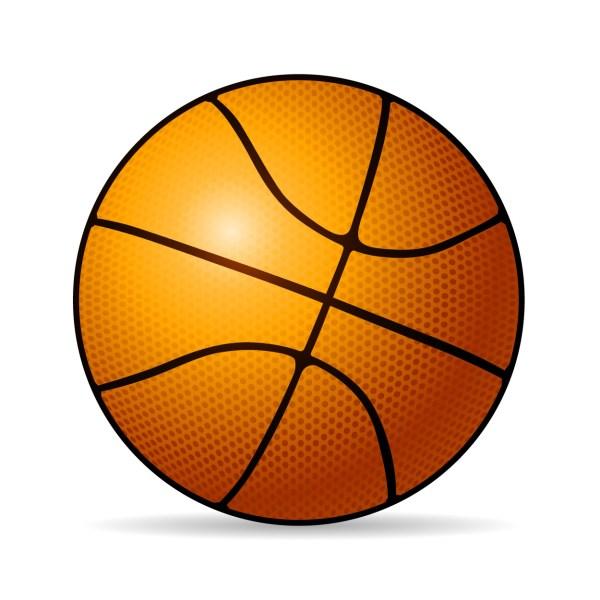 basketballs - clipart