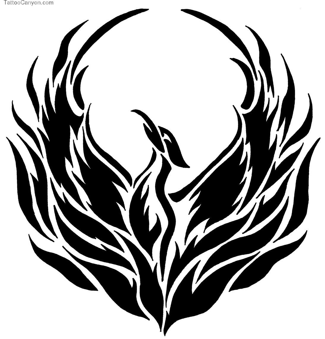 Final Fantasy Phoenix Lineart