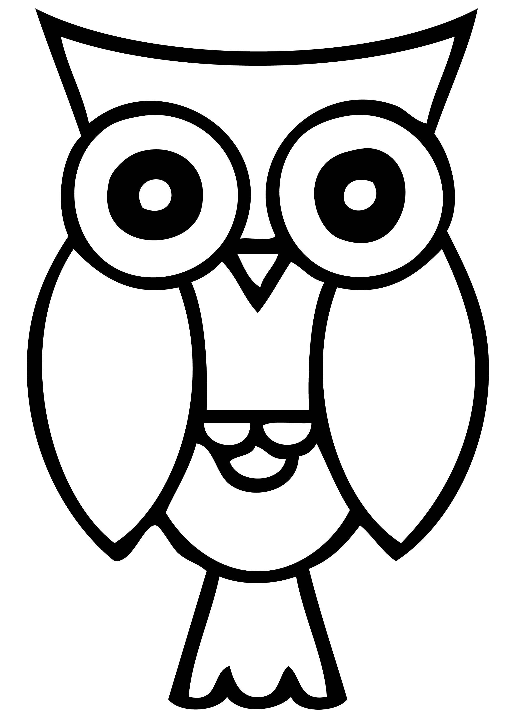Owl Eyes Clip Art