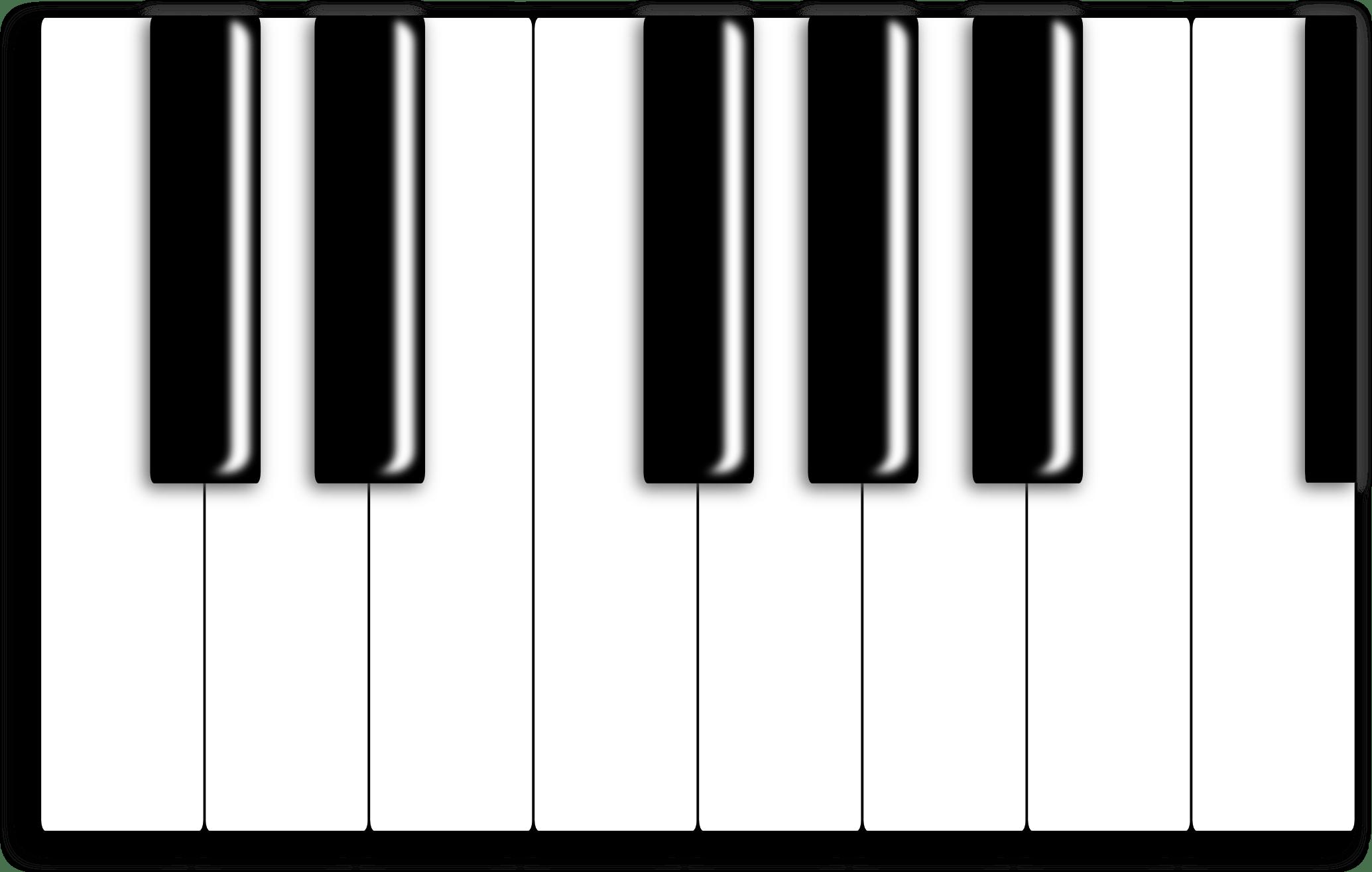 88 key piano keyboard diagram 2001 gmc sierra stereo wiring blank clipart best