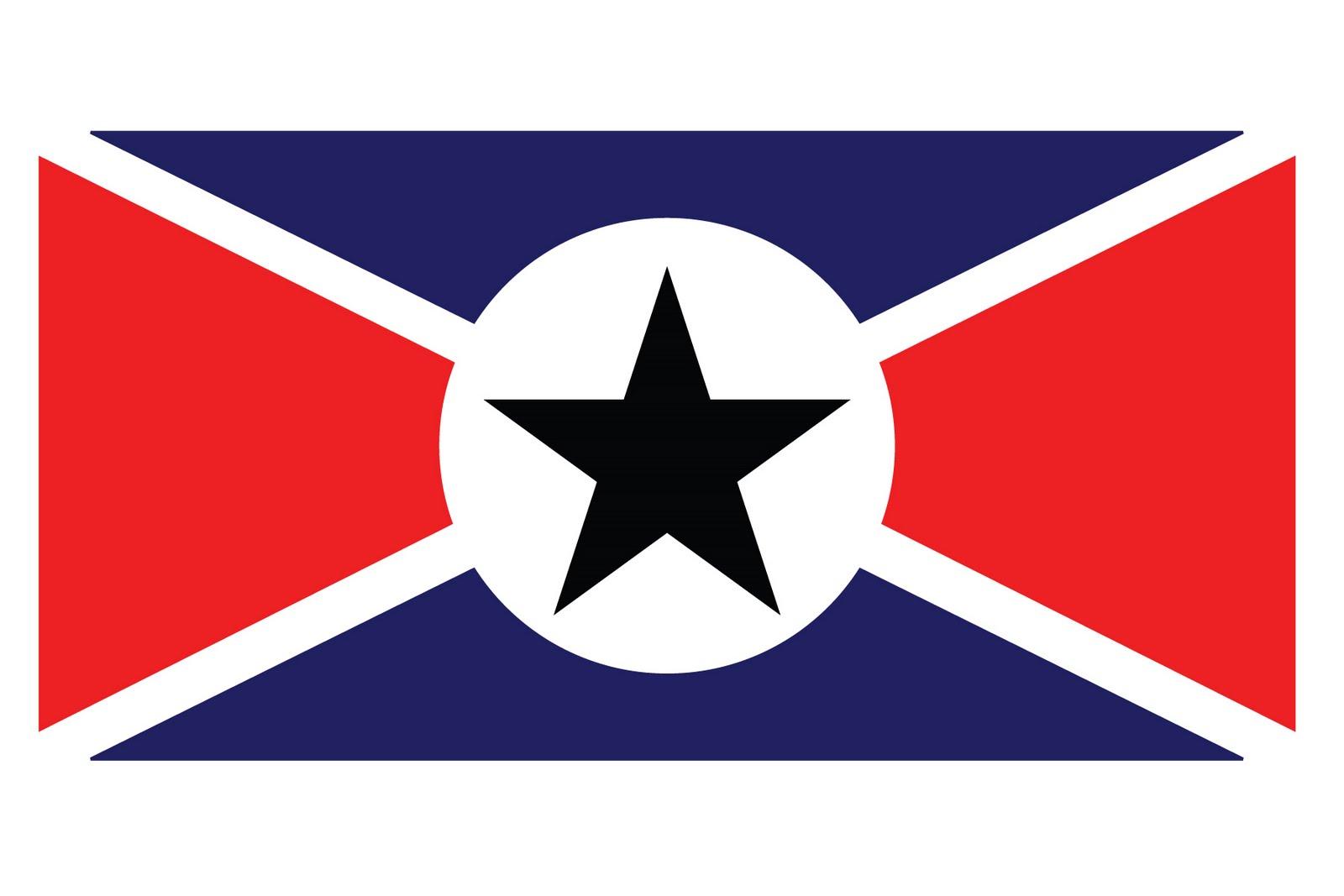 Cool Flag Outline