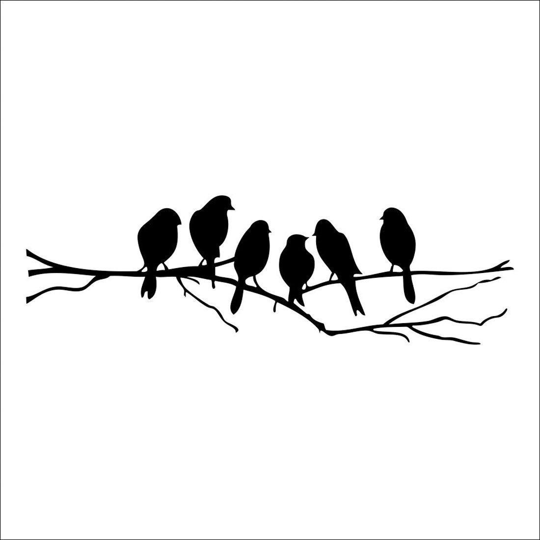 Tree Bird Decal