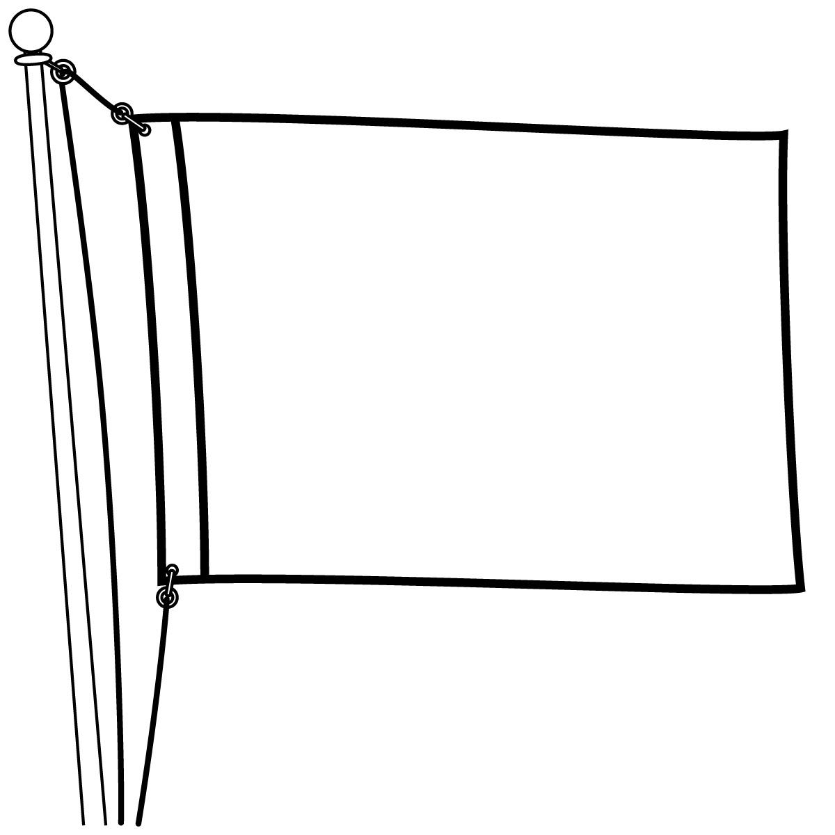Blank Flags