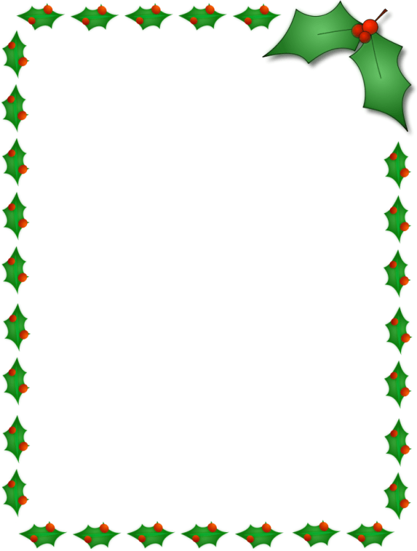 pages borders free - clipart