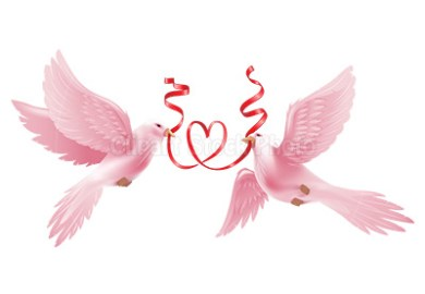 Wedding Dove Clipart Graphic Royalty Free Love Heart