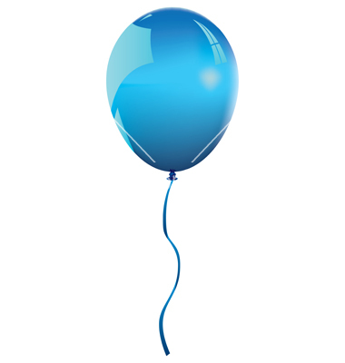 vector balloon - clipart