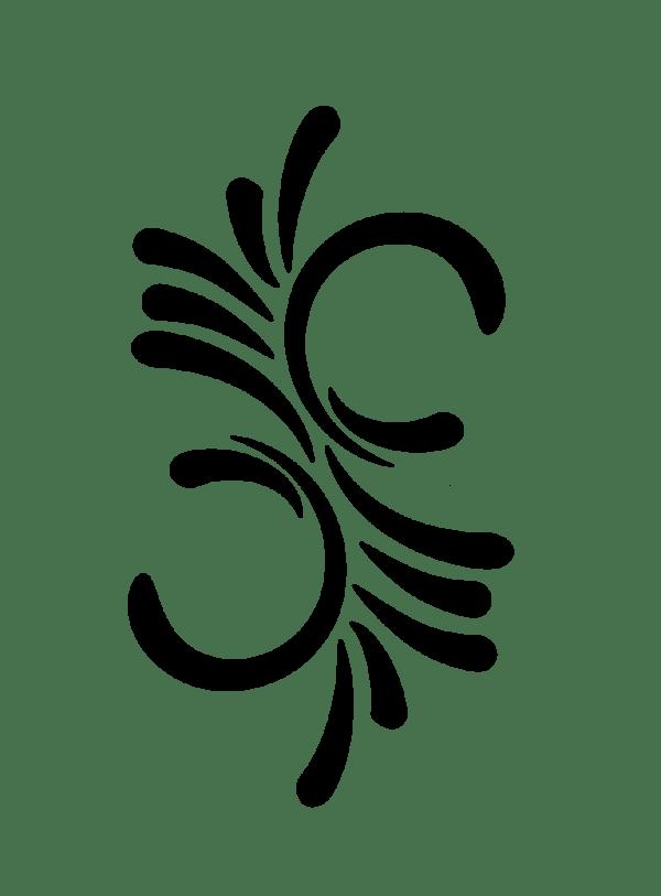 swirl design - clipart