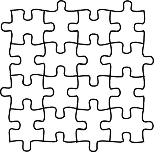 autism awareness puzzle piece coloring page  clipart best