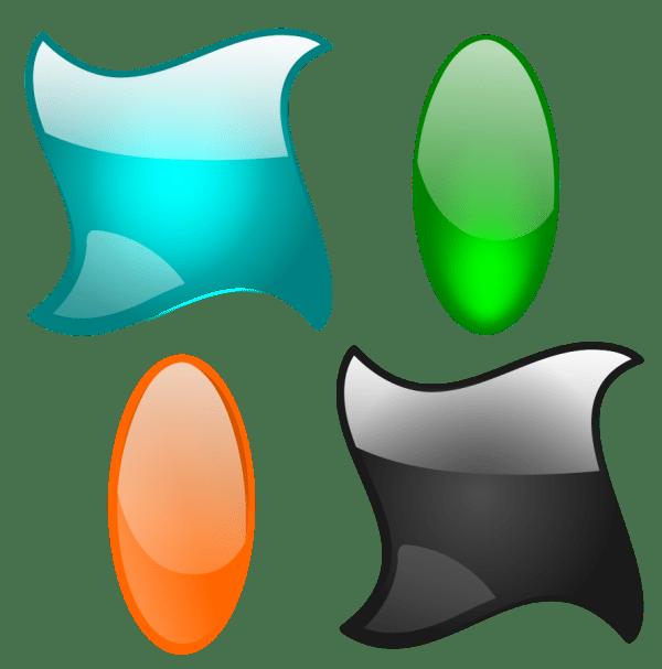 Graphic Shapes Clip Art