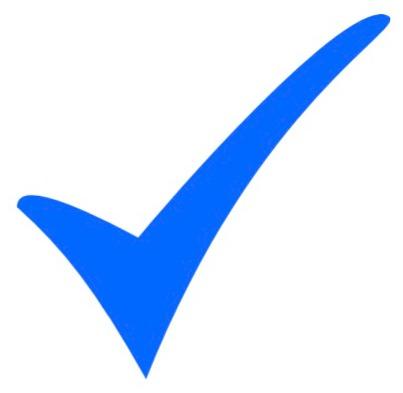 tick logo - clipart
