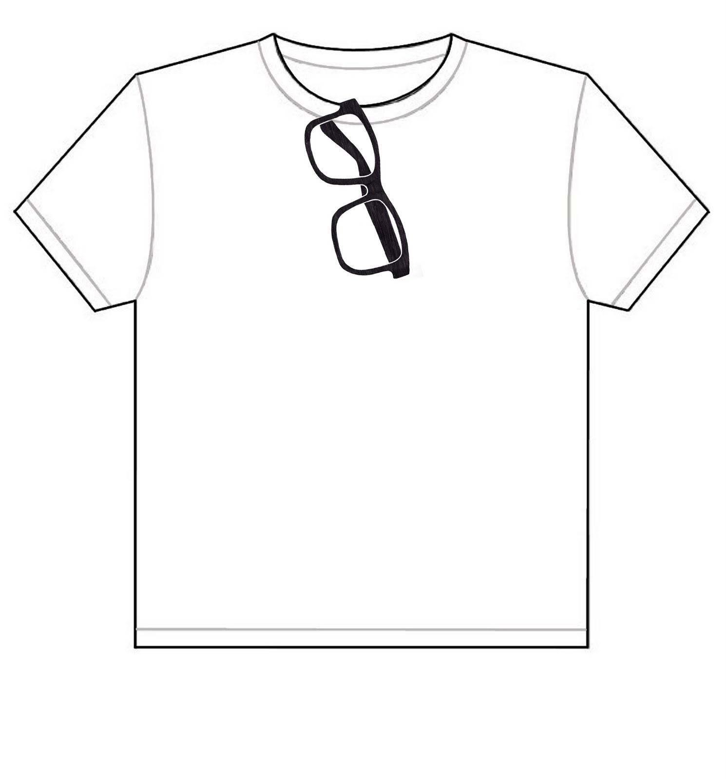 T Shirt Drawing Template
