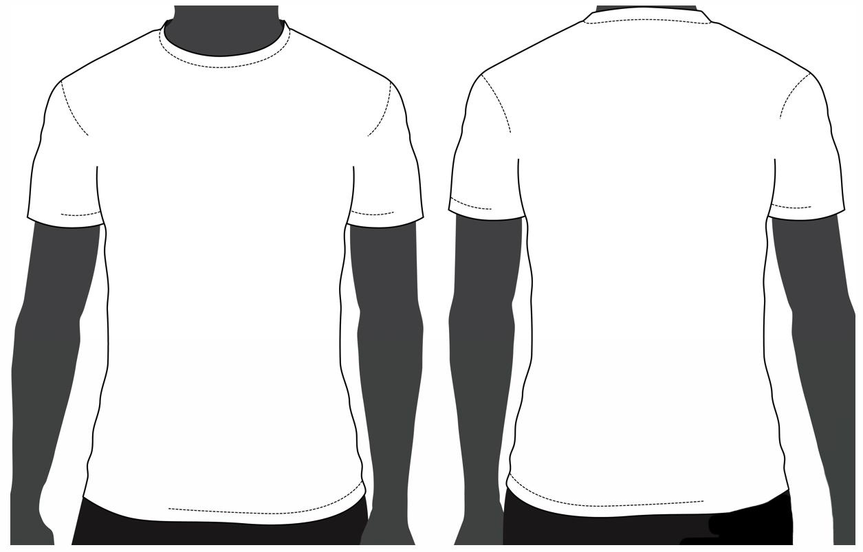 Template T Shirt Psd - ClipArt Best