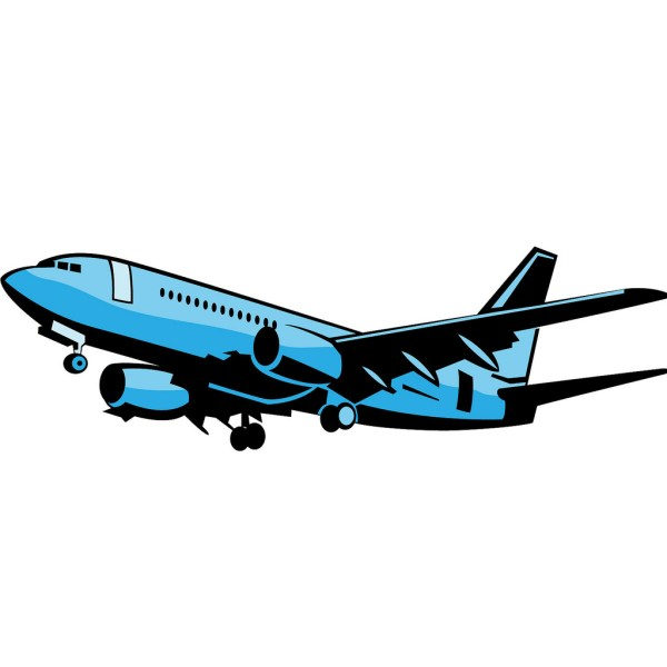 Airplane Vector - Clipart