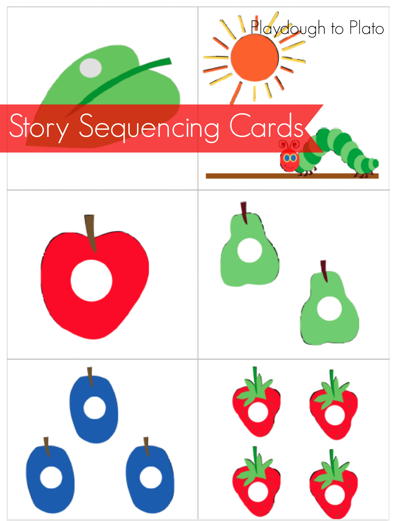 Hungry Caterpillar Printables