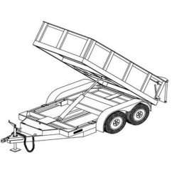 Big Tex Dump Trailer Wiring Diagram Thermo King Tripac Apu Tandem Axle Utility Imageresizertool Com
