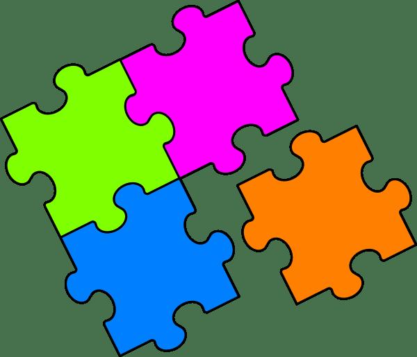Resultado de imagem para puzzles clipart