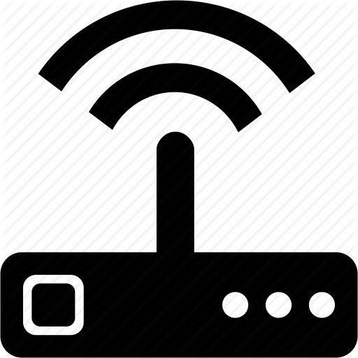 wireless router icon - clipart