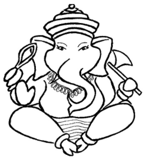 Free Ganesha Sketch Download Free Clip Art Free Clip Art