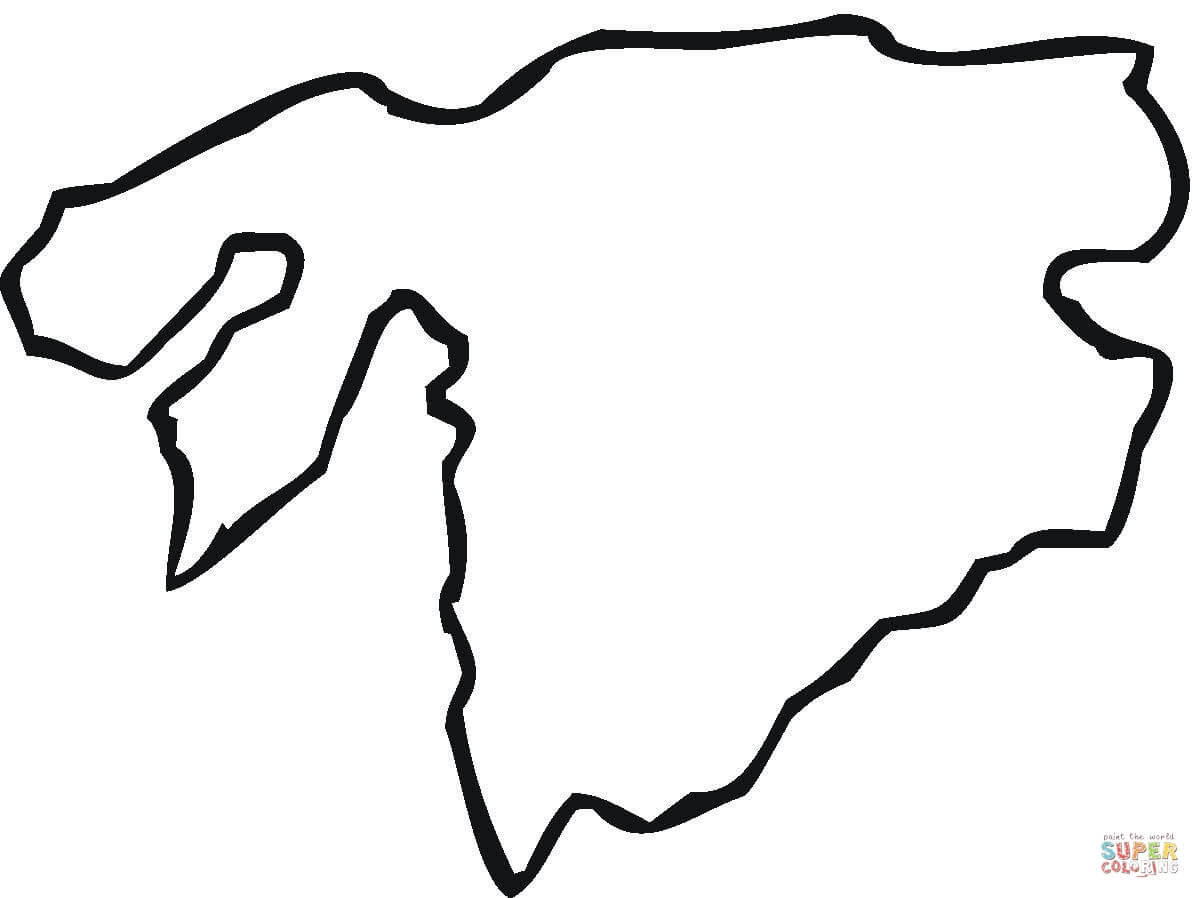 Asia Map Clipart
