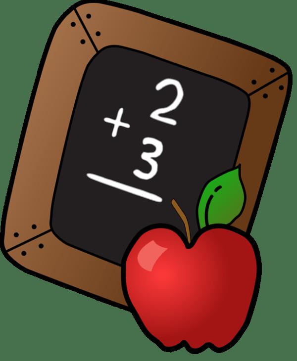 school apple clip art - clipart