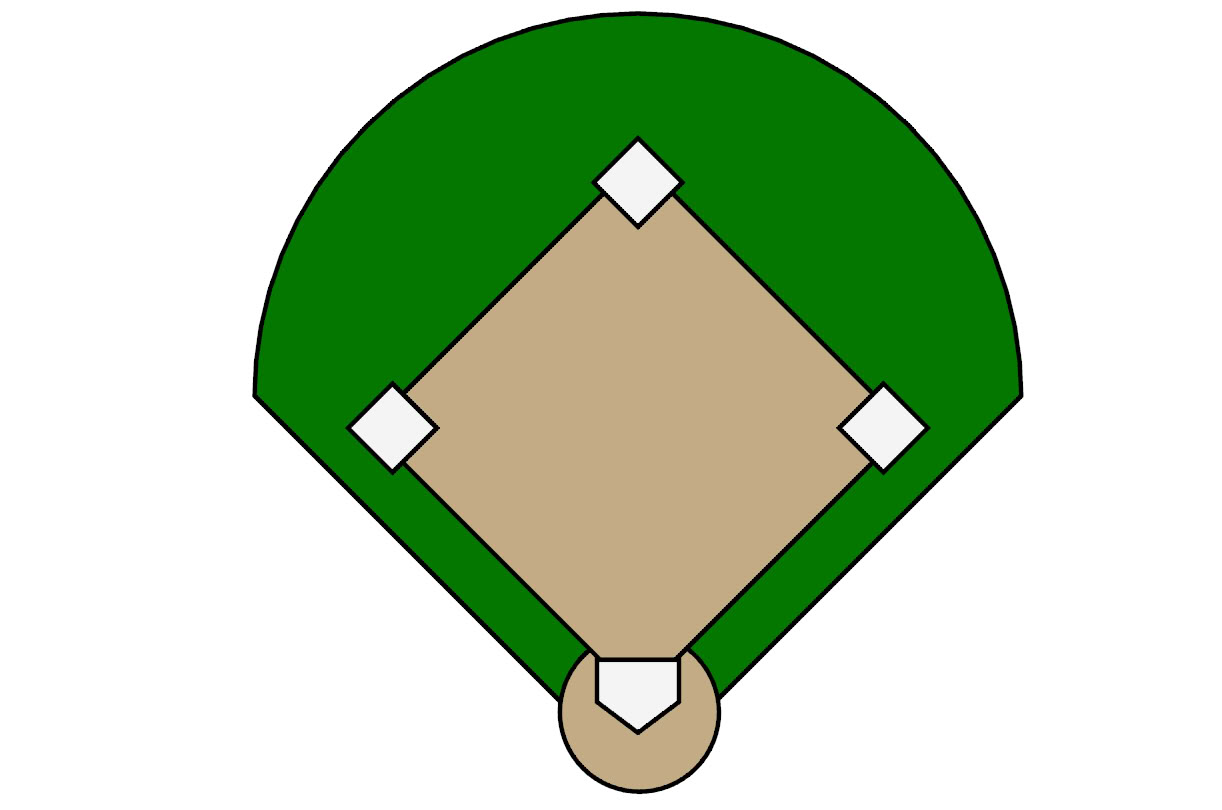 Baseball Field Clipart 14
