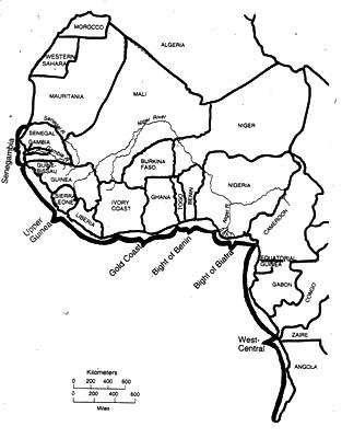 West Africa Blank Map Quiz