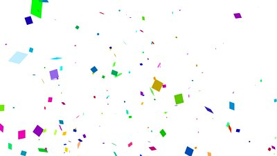 confetti animated - clipart