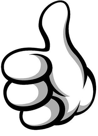 thumbs logo - clipart