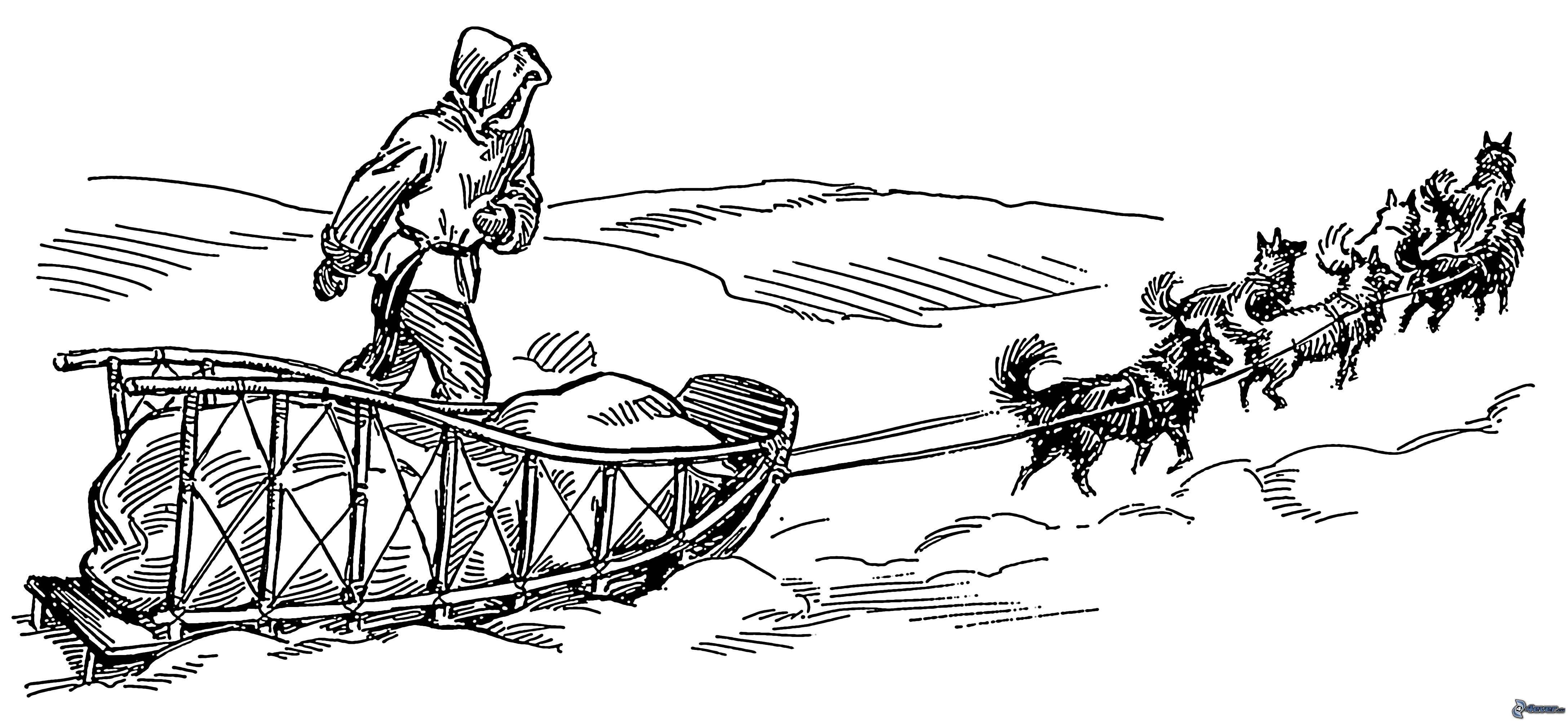 Musher Coloring Page Coloring Pages