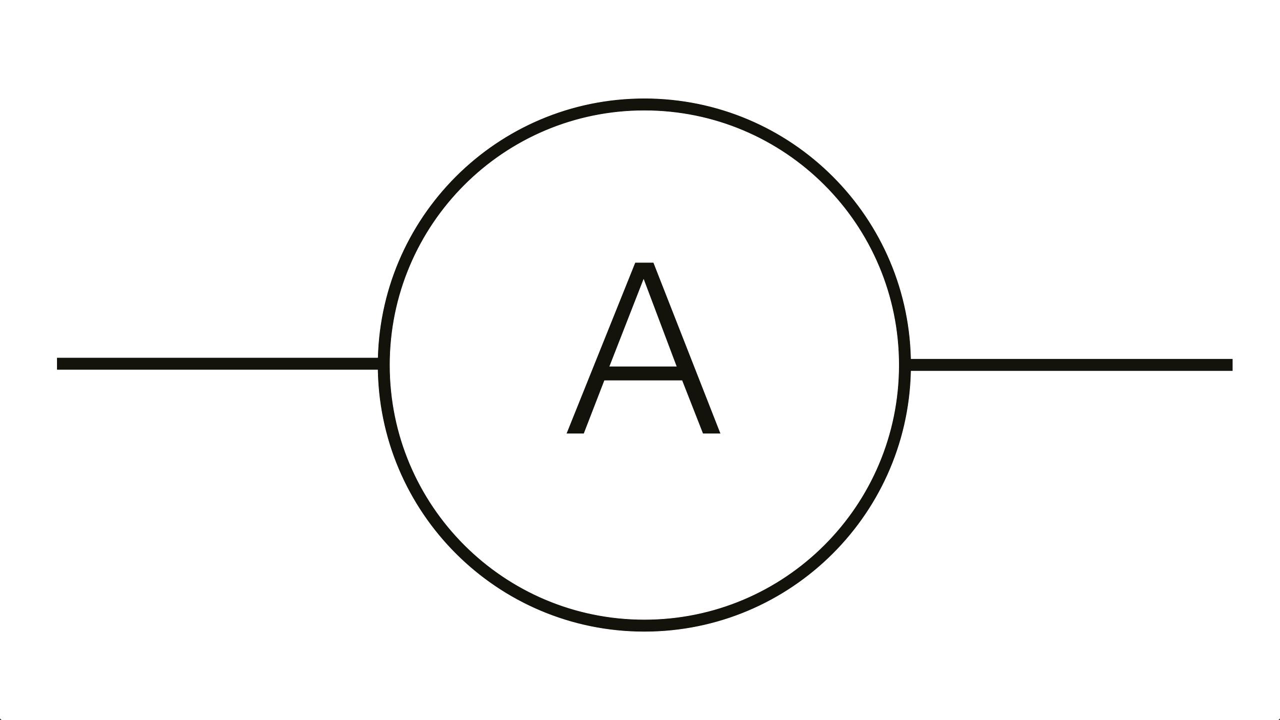 Symbol For Ammeter