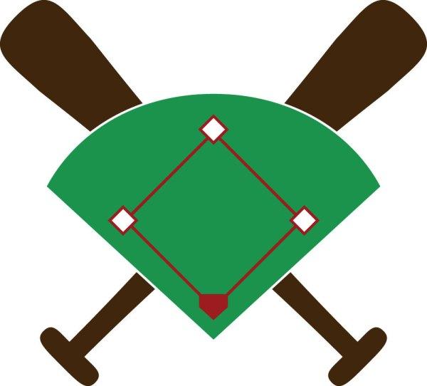 Baseball Diamond Clip Art