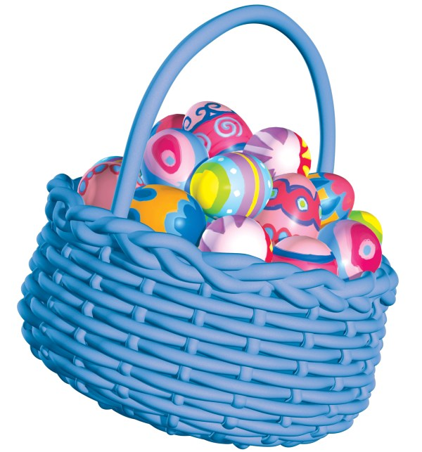 easter basket clip art free - clipart