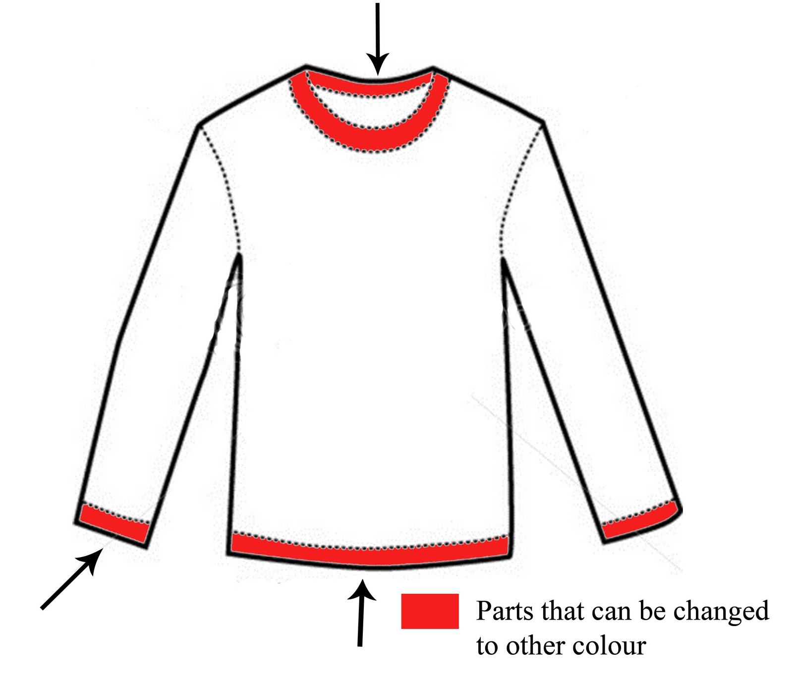 Template Long Sleeve T Shirt