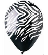 bargain balloons - zebra