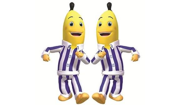 kids in pajamas - clipart