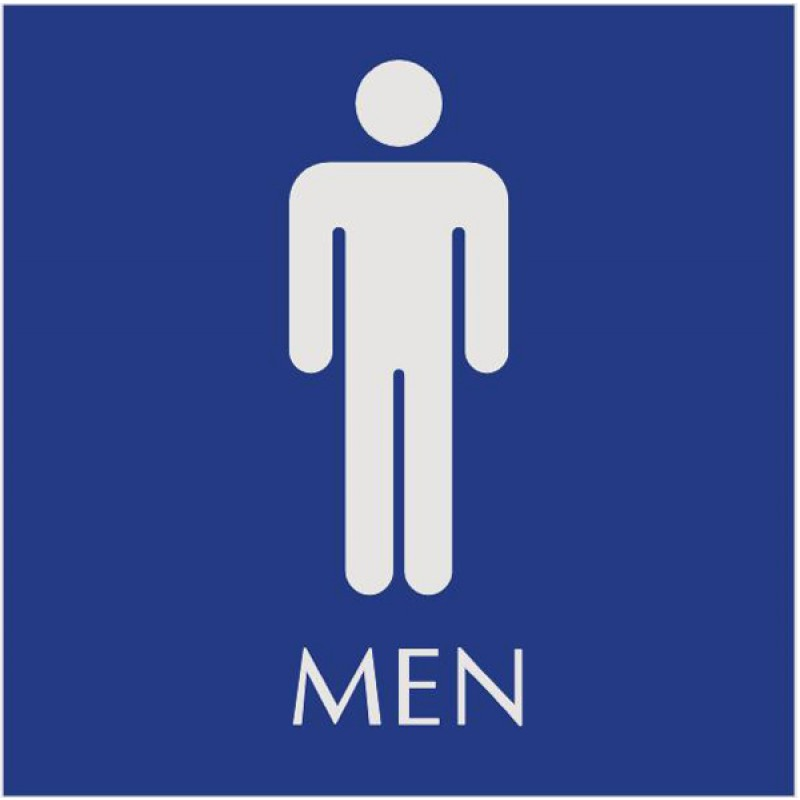 Image result for male restroom sign