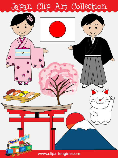 Tokyo Geisha Girl Wallpaper Background Japan Clip Art Collection For Personal And Commercial Use