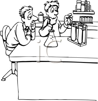 Laboratory Clip Art Black And White