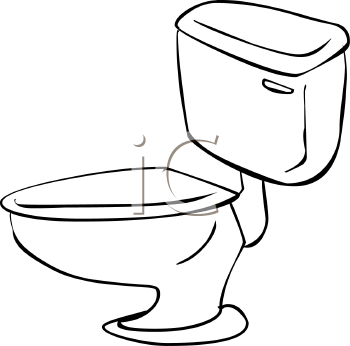 Flush Toilet Coloring Page Coloring Pages