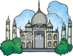 India Taj Mahal Building