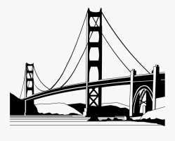 Golden Gate Bridge , Free Transparent Clipart   ClipartKey