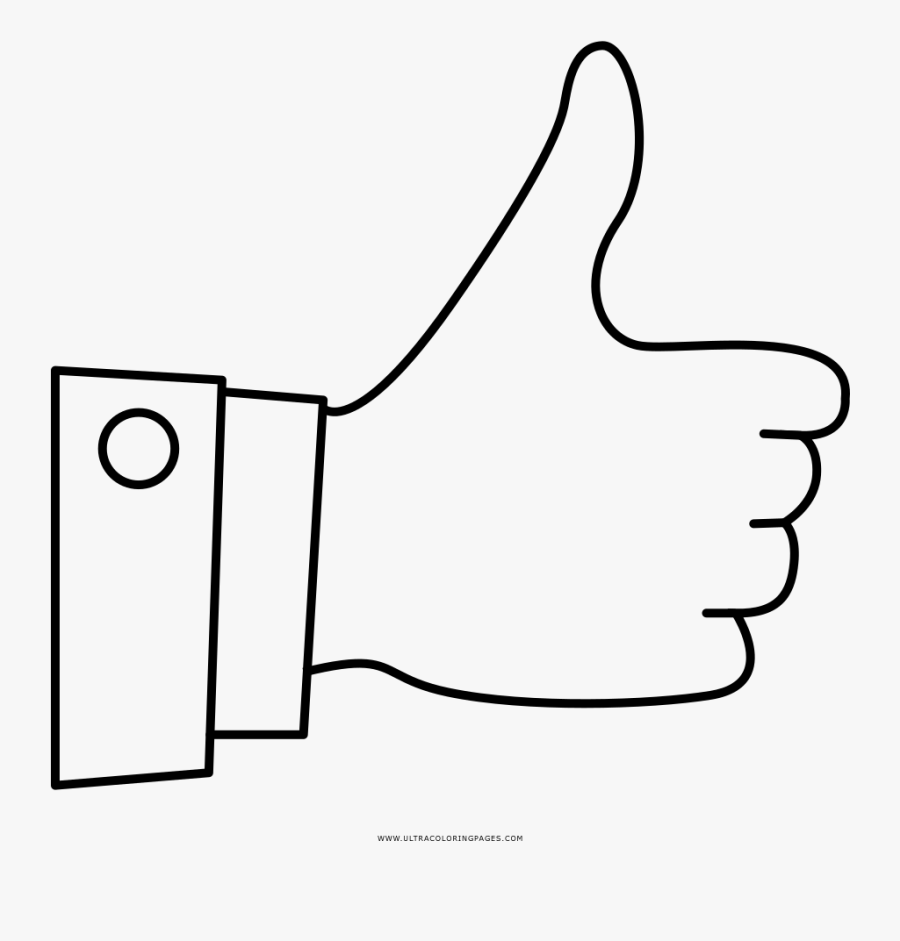 Thumbs Up Coloring Page Thumbs Up Coloring Pages Free Transparent Clipart Clipartkey