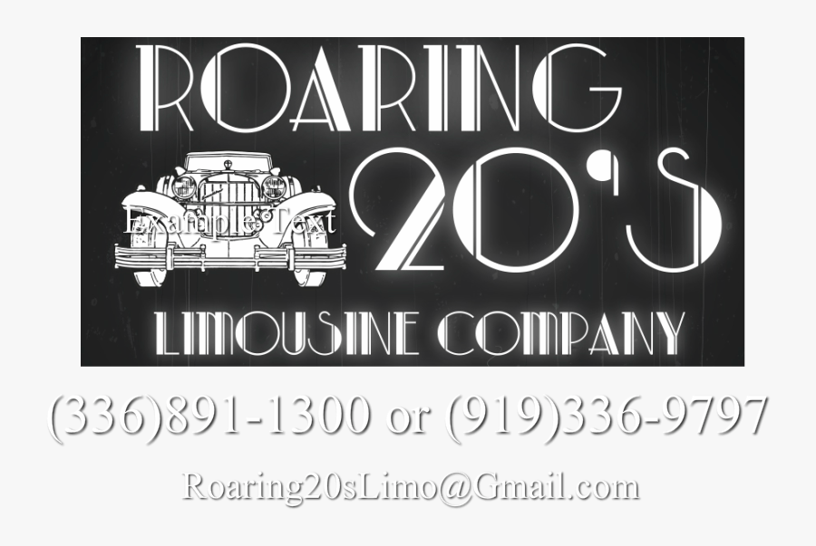 transparent roaring 20s png poster