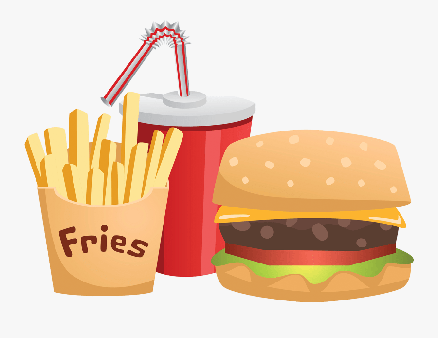 Transparent Junk Food Png Fast Food Clipart Transparent Free Transparent Clipart Clipartkey