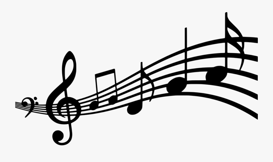 Silhouette, Musical, Note, Clef, Bass, Treble, Music