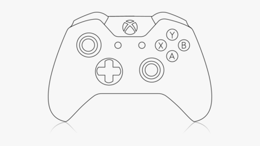 Xbox Controller Drawing Easy , Free Transparent Clipart