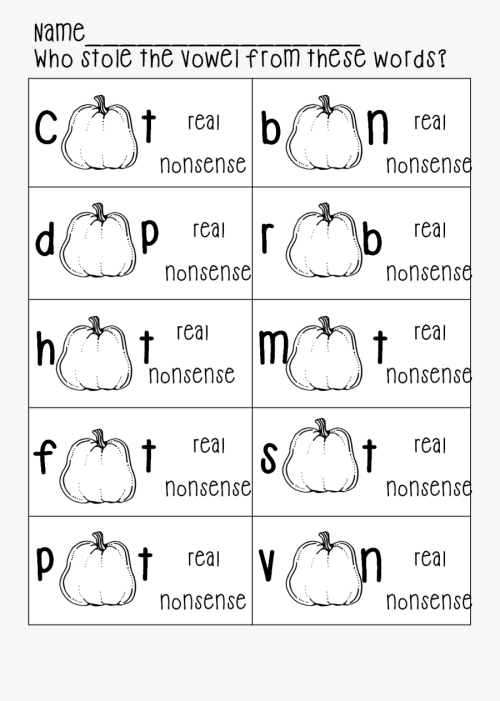 small resolution of Vowel Worksheet For First Grade