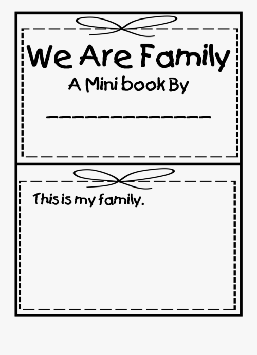 small resolution of Dictionary Clipart Social Studies - My Family Worksheets For Preschoolers