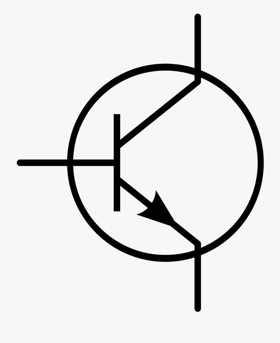 Simbol Transistor Clipart Best Component Symbol For